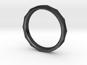 Engineer's Ring - Size 8 in Polished Grey Steel