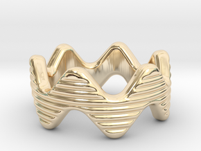Zott Ring 16 - Italian Size 16 in 14k Gold Plated