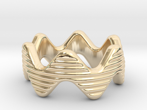 Zott Ring 22 - Italian Size 22 in 14k Gold Plated