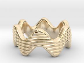 Zott Ring 28 - Italian Size 28 in 14k Gold Plated