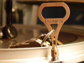 DruNKey v2.0 - A Drum Key Bottle Opener in Stainless Steel