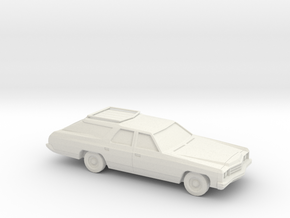 1/87 1973 Chevrolet Caprice Classic Station Wagon in White Strong & Flexible