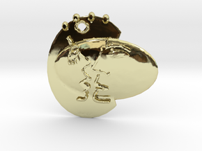 Adam&Eve Emotions Pendant in 18k Gold Plated