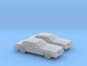 1/160 2X 1983 Cadillac Eldorado Convertable Top in Frosted Ultra Detail