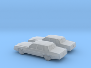 1/160 2X 1983 Cadillac Fleetwood in Frosted Ultra Detail