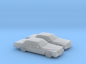 1/160 2X 1984 Cadillac Deville Coupe in Frosted Ultra Detail