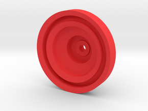 Yo-yo in Red Strong & Flexible Polished