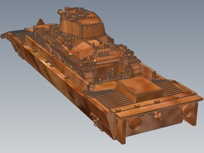 1-120 Pz-Tr-W+ PzKpfw 38t For BP-42 in Frosted Ultra Detail
