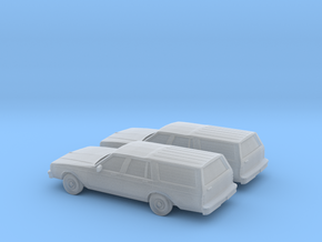 1/160 2X 1982-85 Chevrolet Caprice Classic Station in Frosted Ultra Detail