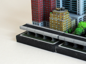 Short Elevated Highway 2 x 4 in Full Color Sandstone