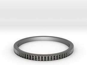 Bearing ring(Japan 20,USA 9.5�10,Britain S�T)  in Polished Silver