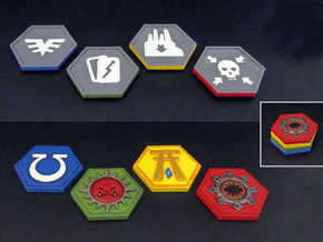 Order Tokens (32 pcs) in White Strong & Flexible