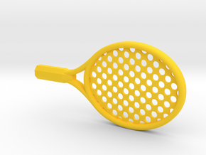 BABY JUNIOR TENNIS RACKET in Yellow Strong & Flexible Polished
