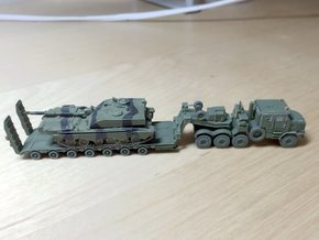 M1070F UK HETS & King GTS 100/7 1/200 Scale in Frosted Ultra Detail