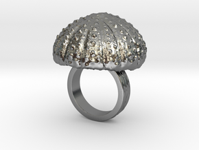 Urchin Statement Ring - US-Size 3 1/2 (14.45 mm) in Polished Silver