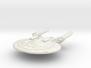 New Orleans Class HvyRefit II Battlecruiser in White Strong & Flexible