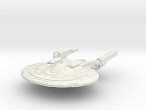 New Orleans Class HvyRefit Battlecruiser in White Strong & Flexible