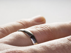 Basic Ring, Size US5 in Premium Silver