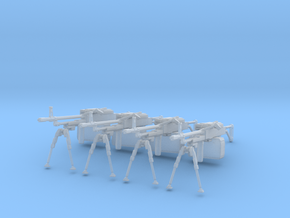 Russian PKM (1:18 Scale) 4 Pack in Frosted Ultra Detail