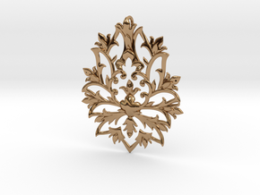 CODE: SLTS02 - PENDANT in Polished Brass