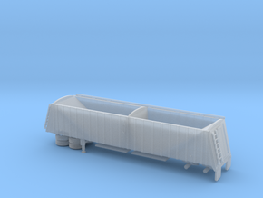 1/160  42' Semi Grain Trailer  in Frosted Ultra Detail