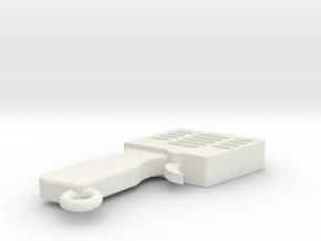 LLAVERO MANDO SLOT, PERSONALIZABLE in White Strong & Flexible