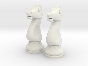 Pair Knight Chess Big - Timur Knight