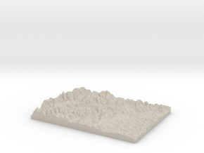 Model of Tushie Law in Sandstone