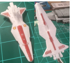 10K Scale Venator in White Strong & Flexible