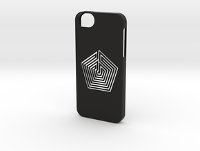 Iphone 5/5s labyrinth case in Black Strong & Flexible