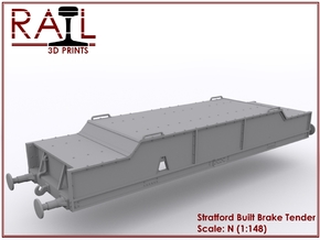 Diesel Brake Tender - Stratford Built - N Scale in Frosted Ultra Detail