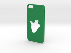 Iphone 6 Burundi Case in Green Strong & Flexible Polished