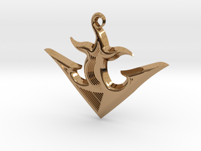 ANCHOR 2 in Polished Brass