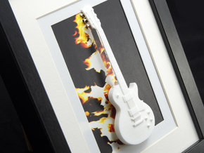 Gibson Les Paul 13-18 in White Strong & Flexible Polished