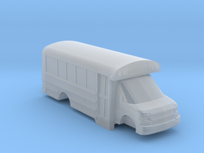 n scale thomas minotour chevy express school bus in Frosted Ultra Detail