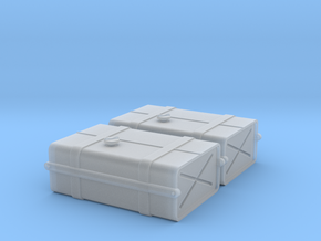 1-24 SAS Jeep Fuel Tanks FUD in Frosted Ultra Detail