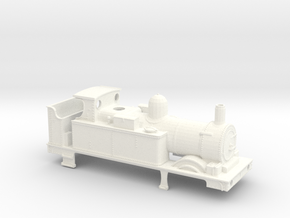 GWR 517 Body Class - Open Cab Belper Firebox in White Strong & Flexible Polished