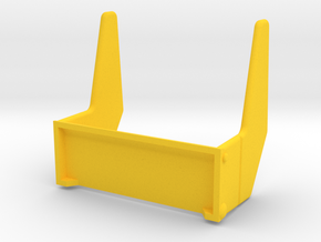 Playmobil Top Agents 4876, rear fins (2 of 4) in Yellow Strong & Flexible Polished