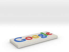 Google Stone in Full Color Sandstone