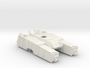 1/144 Centaur A3 Tank body  in White Strong & Flexible
