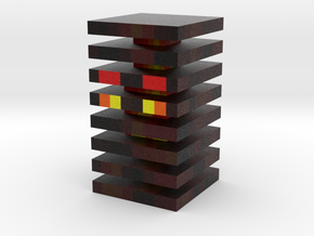 Magma Cube (Jumping) in Full Color Sandstone