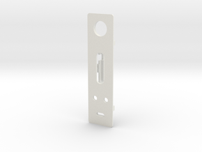 DNA200 / DNA75 Faceplate for 12mm Fire Switch in White Strong & Flexible