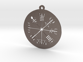 Vegvisir Medallion in Stainless Steel