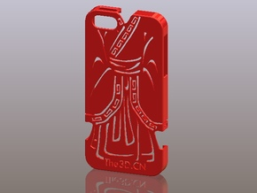 iPhone5_The Chinese Style -- Ancient costume 07 in Red Strong & Flexible Polished