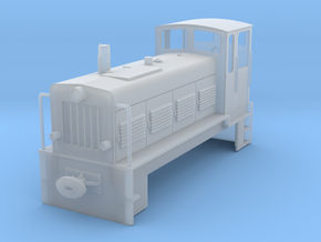 Ns4 DR Spur 1 e/f/p Chassis/ Gehäuse in Frosted Ultra Detail
