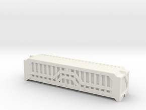 6mm 40Ft Shipping Container in White Strong & Flexible
