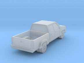 Dual Rear Wheel Crewcab Pickup - Zscale in Frosted Ultra Detail