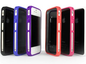 Brute for iPhone 4 - Thin but Tough in Blue Strong & Flexible Polished