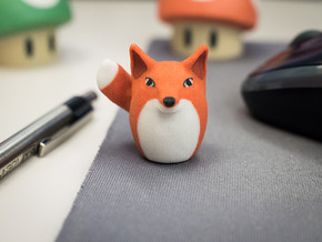 Tiny Foxtato Believes in You! in Full Color Sandstone