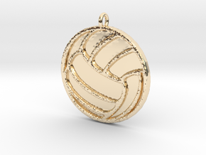 Volleyball in 14K Gold